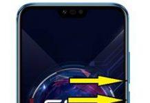 Huawei Honor 10 GT ekran görüntüsü alma