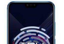 Huawei Honor 10 GT parmak izi ekleme