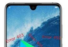 Huawei Honor 8X Max Google Play Store hataları