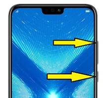 Huawei Honor 8X format atma