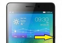 Lenovo K3 Note ekran görüntüsü alma