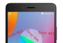 Lenovo K6 Note Google Play Store hataları