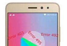 Lenovo K6 Power Google Play Store hataları