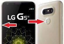 LG G5 SE kurtarma modu