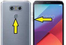 LG G6 kurtarma modu