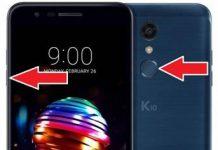 LG K10 2018 format atma