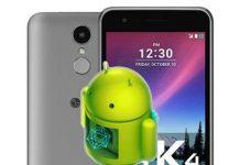 LG K4 2017 fabrika ayarları döndürme