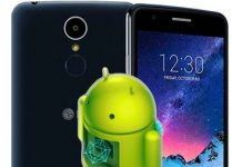 LG K8 2017 fabrika ayarları döndürme