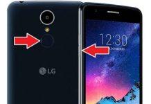 LG K8 2017 format atma