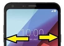 LG Q6 kurtarma modu