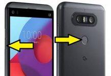 LG Q8 kurtarma modu