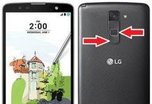 LG Stylus 2 Plus kurtarma modu