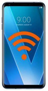 LG V30 ağ ayarları sıfırlama