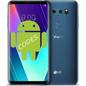 LG V30S ThinQ kodlar