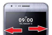 LG X Cam format atma