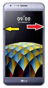 LG X Cam kurtarma modu