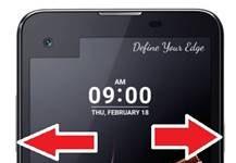 LG X Screen kurtarma modu