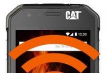 CAT S31 internet paylaşımı