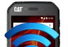 CAT S41 ağ ayarları sıfırlama