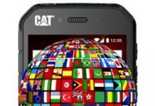CAT S41 dil değiştirme