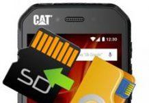 CAT S41 dosyaları hafıza kartına taşıma