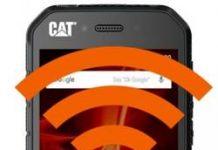 CAT S41 internet paylaşımı