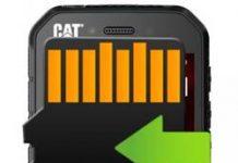 CAT S41 uygulamaları hafıza kartına taşıma