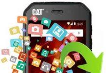 CAT S41 veri yedekleme