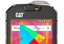 CAT S60 Google Play Store hataları