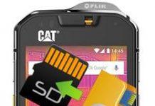 CAT S60 dosyaları hafıza kartına taşıma