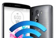 LG G3 ağ ayarları sıfırlama