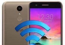 LG K10 2017 ağ ayarları sıfırlama