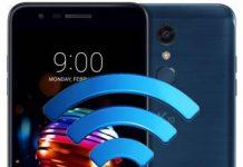 LG K10 2018 ağ ayarları sıfırlama