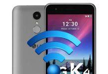 LG K4 2017 ağ ayarları sıfırlama