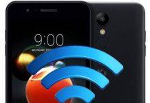 LG K9 ağ ayarları sıfırlama