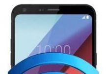 LG Q6 Plus ağ ayarları sıfırlama