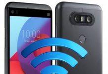 LG Q8 ağ ayarları sıfırlama