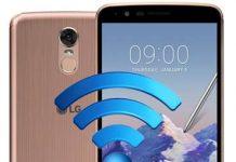LG Stylus 3 ağ ayarları sıfırlama