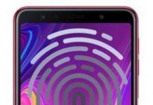 Samsung Galaxy A7 2018 parmak izi ekleme
