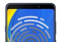 Samsung Galaxy A9 2018 parmak izi ekleme