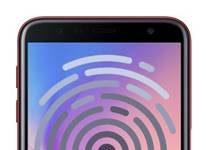 Samsung Galaxy J6 Plus parmak izi ekleme