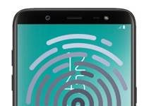 Samsung Galaxy On8 2018 parmak izi ekleme