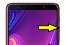 Samsung Galaxy A7 2018 ekran görüntüsü alma
