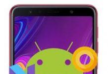 Samsung Galaxy A7 2018 güncelleme