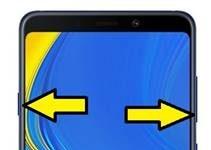 Samsung Galaxy A9 2018 ekran görüntüsü alma