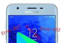 Samsung Galaxy J3 2018 Google Play hataları