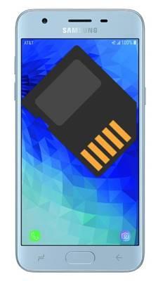 Samsung Galaxy J3 2018 SD kart biçimlendirme