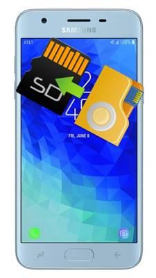 Samsung Galaxy J3 2018 dosyaları SD karta taşıma