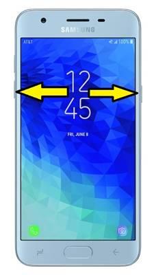Samsung Galaxy J3 2018 ekran görüntüsü alma