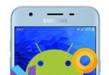 Samsung Galaxy J3 2018 güncelleme